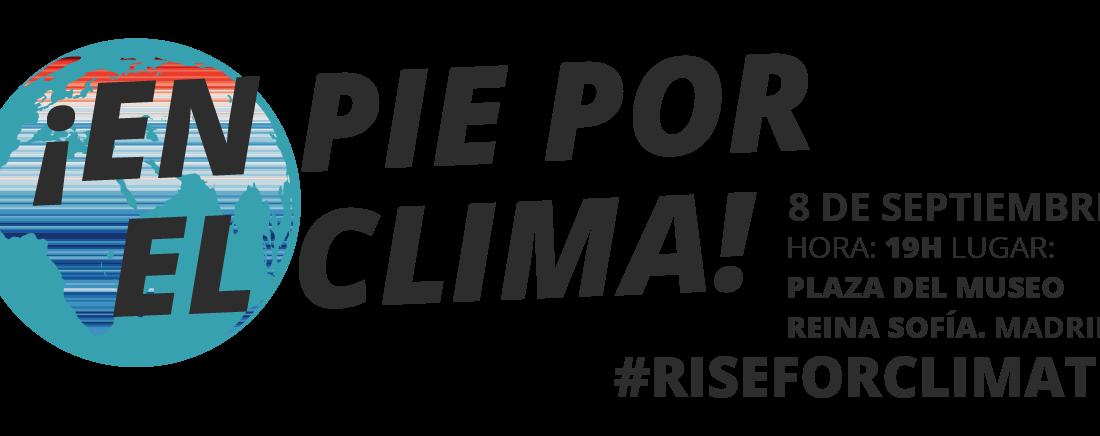 Madrid se suma a la movilización global «¡En pie por el clima!»