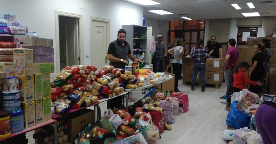 La asociación Móstoles Sin Fronteras continua con nueva campaña de recogida de alimentos.