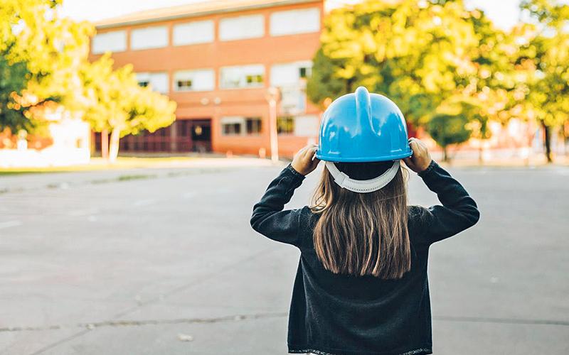El Ayuntamiento de Móstoles sanciona a la empresa constructora que está realizando las obras de reforma de los colegios